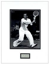 Fred Perry Autograph Signed Display